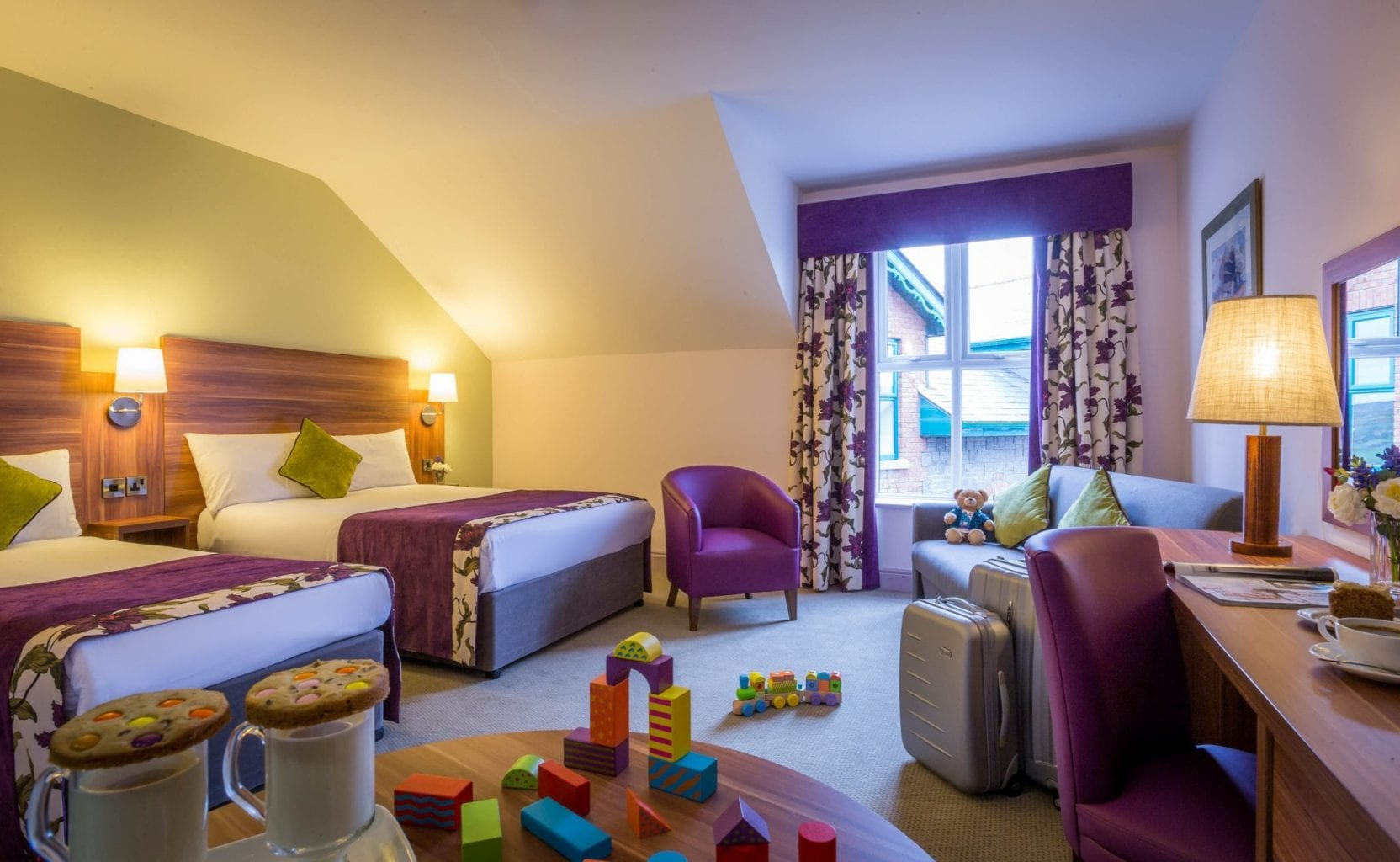 Maldron Hotel Oranmore Galway Family Room