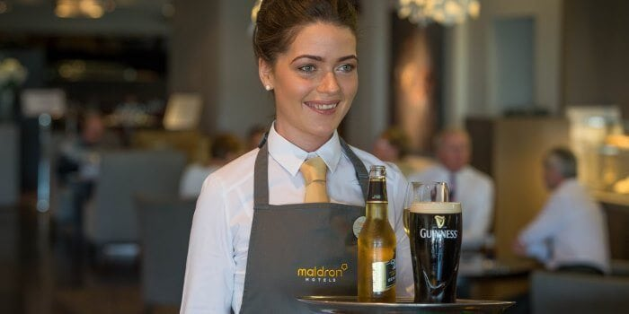 Maldron Hotels Friendly Waitress