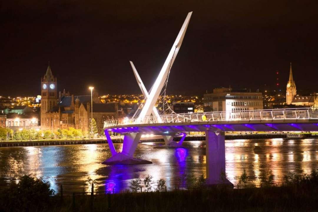 Peace Bridge & Guildhall