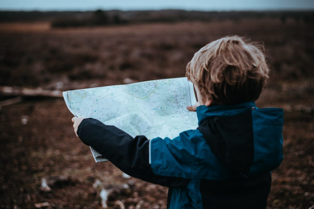 Child with Map - Maldron Hotels