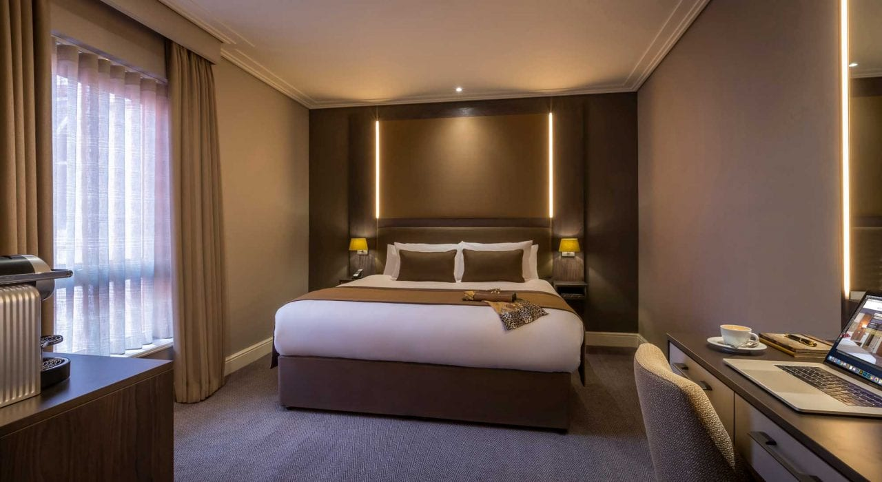 Luxurious Superior Double Room at Belvedere Hotel Dublin