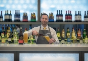 barman-pouring-drink-Maldron-Hotel-Belfast-City