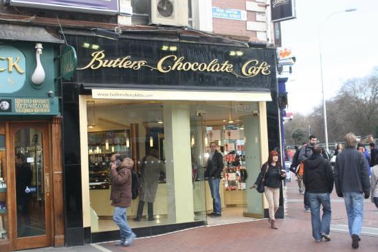 Butlers Chocolates Cafe Dublin