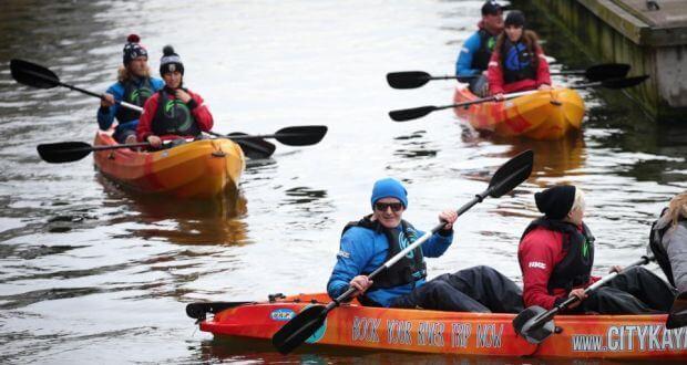 Dublin City Centre Kayaking