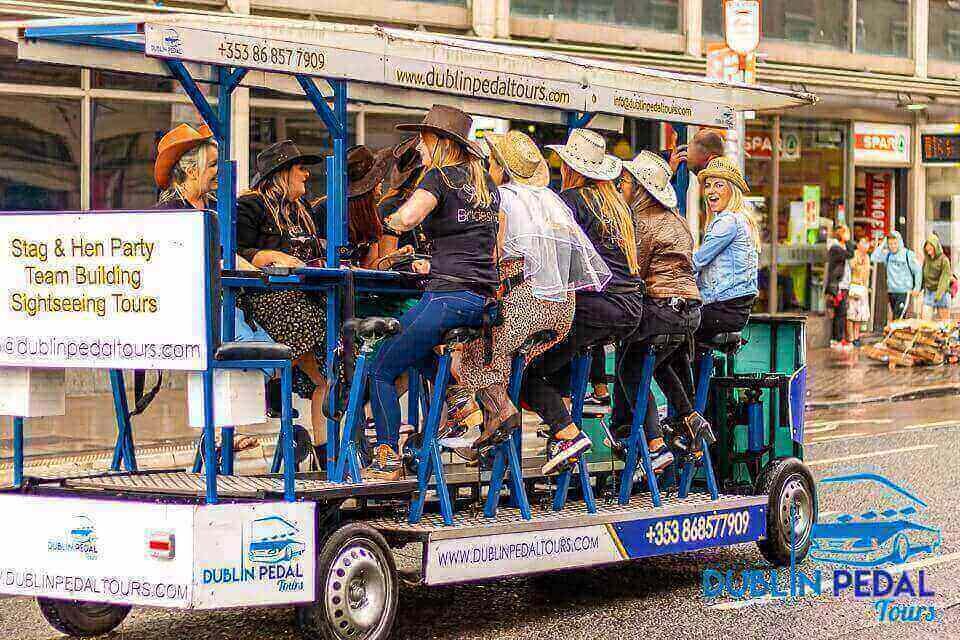 Dublin pedal tours ireland