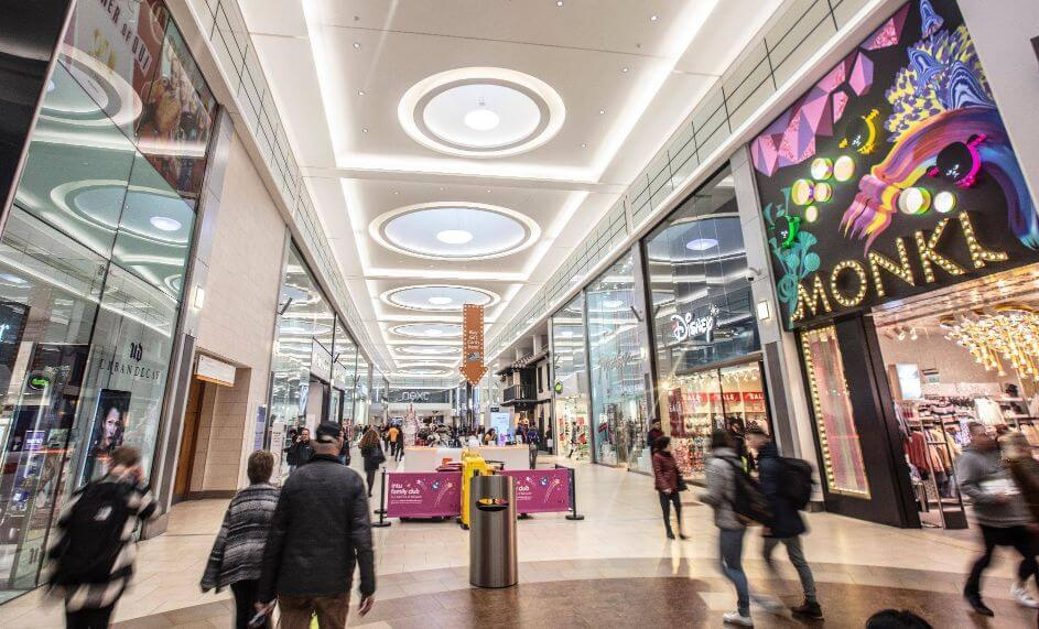 Eldon Square Shopping Centre Newcastle
