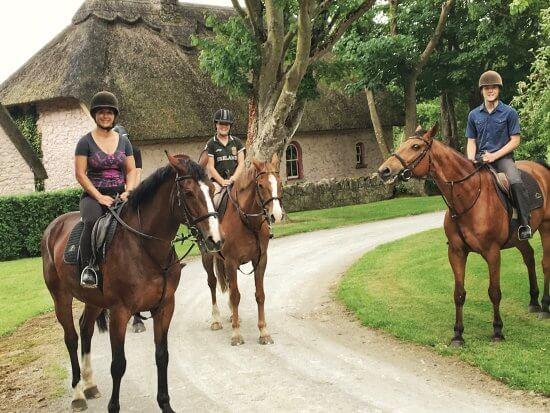 Horseback riding limerick
