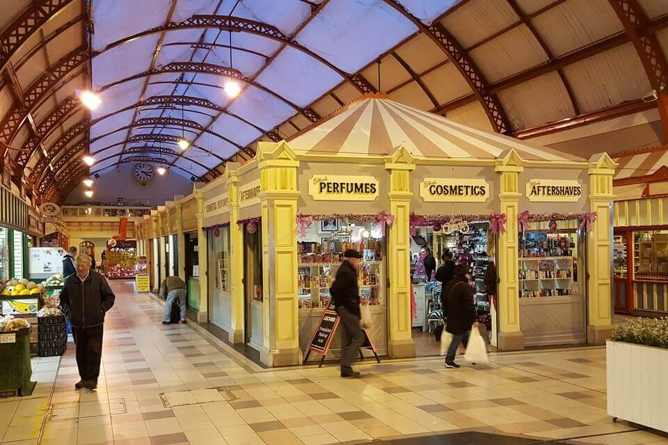 Inside Grainger Market Newcastle