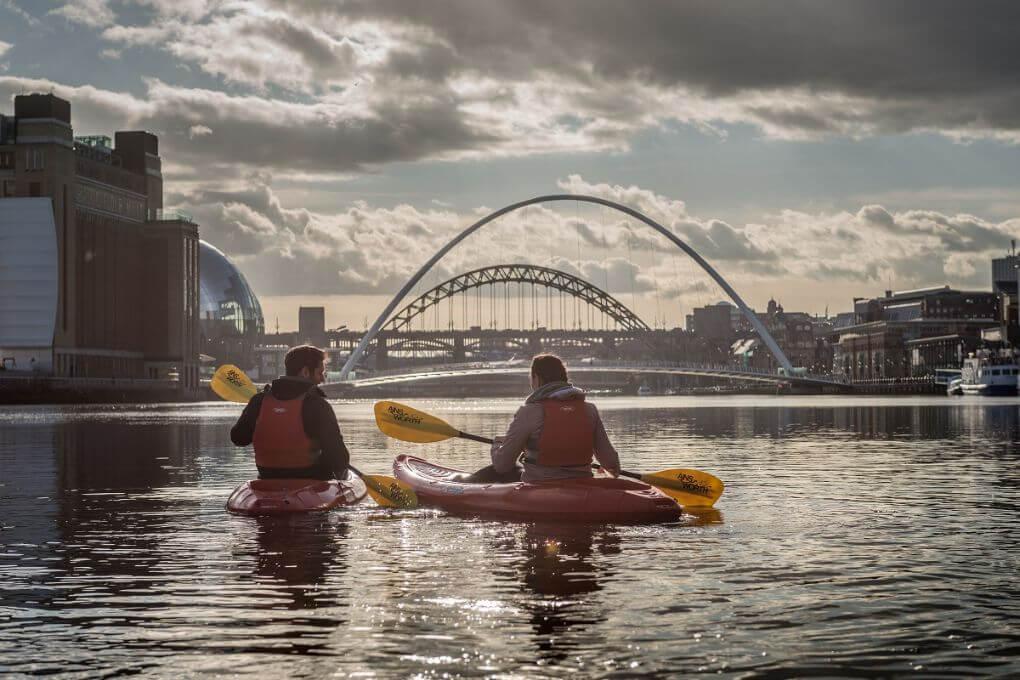 Kayak on the Tyne