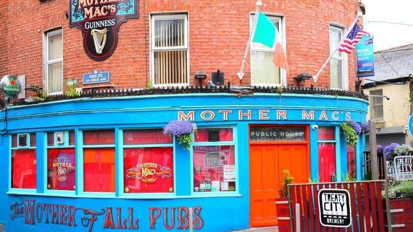 Mother Macs Pub Limerick