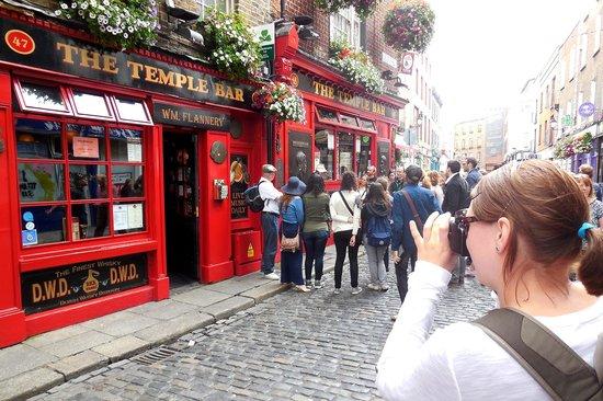 Free walking tour Dublin